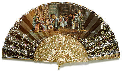 Antique and Vintage Hand Fan AF064