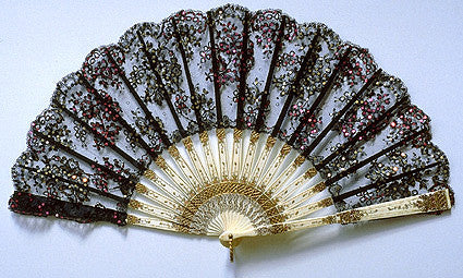 Antique and Vintage Hand Fan AF068