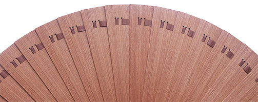 Plain Wooden Hand Fan CB0001