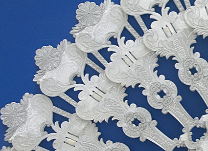 Bridal Hand Fan CB102W