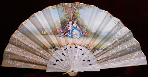 Vintage and Antique Hand Fan CCNA01