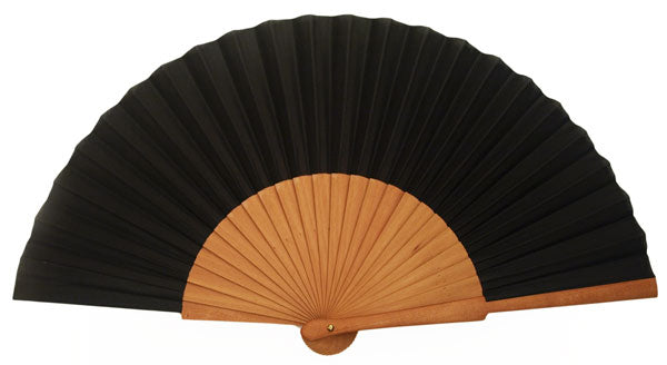 Plain Wooden Hand Fan CF303B