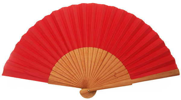 Plain Wooden Hand Fan CF303R