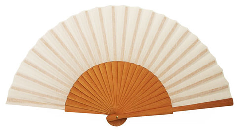 Plain Wooden Hand Fan CF303W