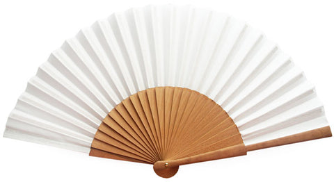 Plain Wooden Hand Fan CG0031W