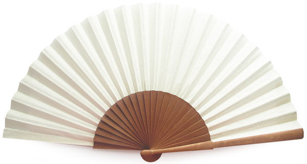 Plain Wooden Hand Fan CG0032