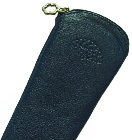 Case Leather Navy Blue23