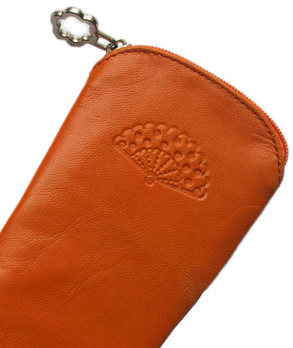 Case Leather Orange23