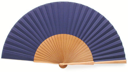 Plain Wooden Hand Fan EC0123CB