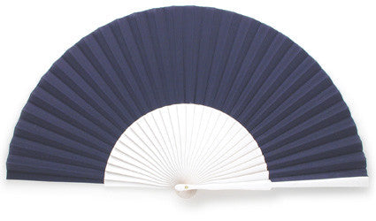 Plain Wooden Hand Fan EC0123WB