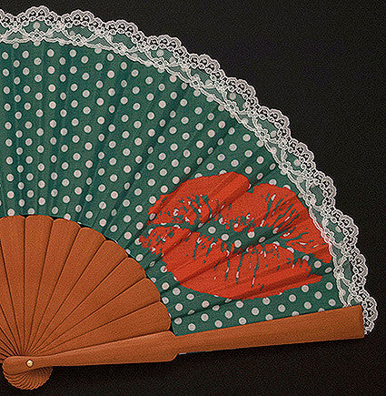 "Funny Hand Fan FH113LP ""Lips"""