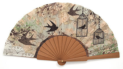 "Funny Hand Fan FH115VT ""Vintage"""