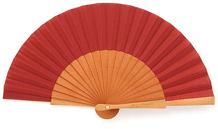 Plain Wooden Hand Fan GC0107DR