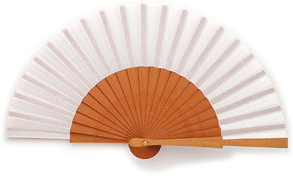 Plain Wooden Hand Fan GC0107W