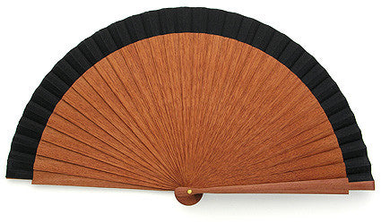 Plain Wooden Hand Fan JC01692