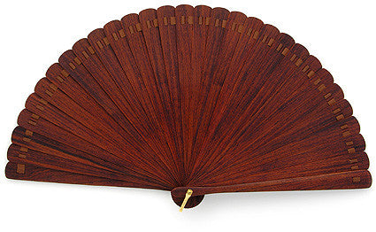 Plain Wooden Hand Fan JC4210