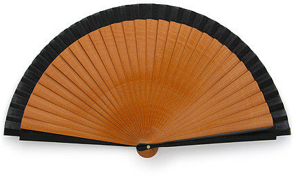 Plain Wooden Hand Fan KC2237