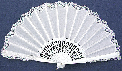 Bridal Hand Fan PC8368