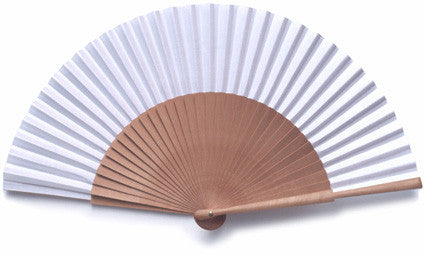 Plain Wooden Hand Fan PF012
