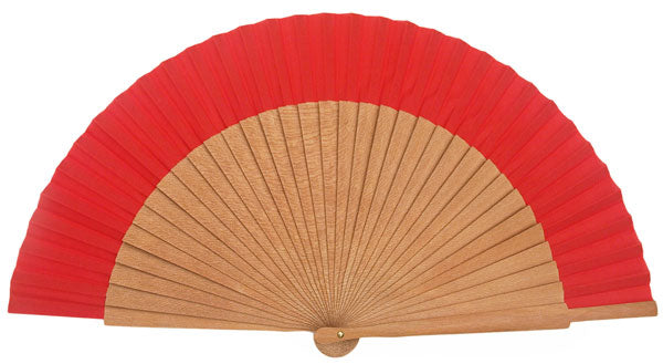 Plain Wooden Hand Fan PF013G