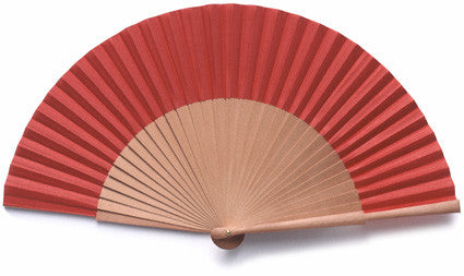Plain Wooden Hand Fan PF013