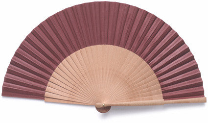 Plain Wooden Hand Fan PF014