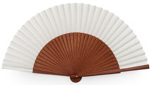 Plain Wooden Hand Fan PF015K