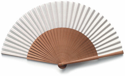 Plain Wooden Hand Fan PF015