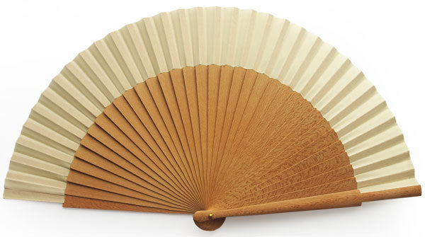 Plain Wooden Hand Fan PF020G