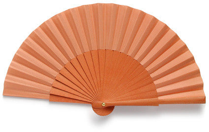 Plain Wooden Hand Fan PF1002