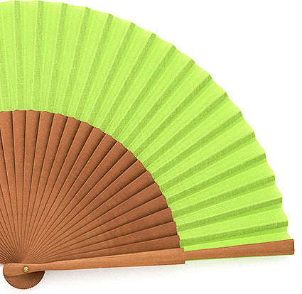 Plain Wooden Hand Fan PF333