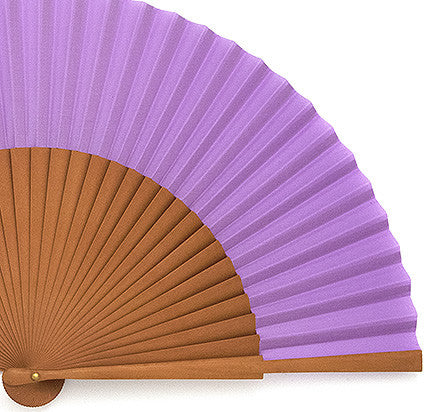 Plain Wooden Hand Fan PF334