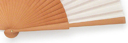 Plain Wooden Hand Fan PF792