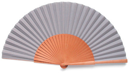 Plain Wooden Hand Fan PF991