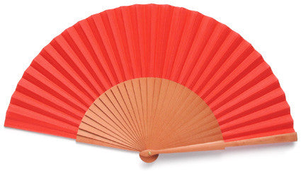Plain Wooden Hand Fan PF993