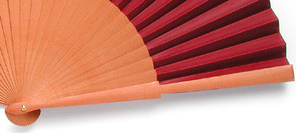 Plain Wooden Hand Fan PF994