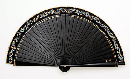 Plain Wooden Hand Fan SB8500