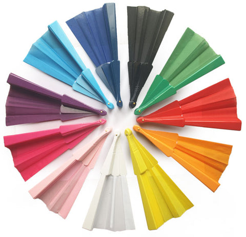 Plain (Unprinted) Fans for Weddings and Parties