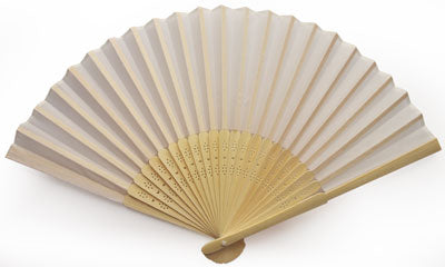 25 pieces Bamboo Folding Fans