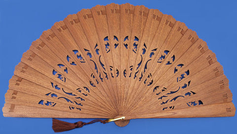Plain Wooden Hand Fan CB531