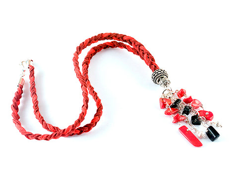 Red Cordelia Necklace