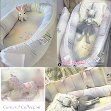 Load image into Gallery viewer, Babynest X Growbabies Carousel limited collection ที่นอนเบบี้เนสลายlimited Carousel