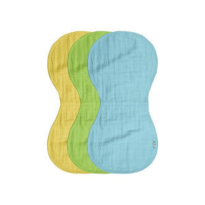 Green Sprouts Muslin Burp Cloths Made From Organic Cotton (3 Pack)  ผ้าเอนกประสงค์ทำจากผ้า Cotton
