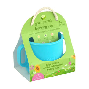 Green sprouts Learning Cup Made From Silicone แก้วซิลิโคน