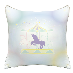 Grow หมอนอิงขนาด16นิ้ว ลายDolce de Carousel Grow Decorate Pillow-Dolce de Carousel