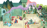 Usborne books  Peep inside a fairy tale: Sleeping Beauty  3Y+ หนังสือ Peep inside a fairy tale: Sleeping Beauty  เหมาะสำหรับ 3 ปีขึ้นไป
