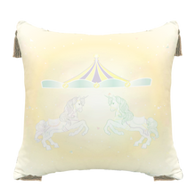 Load image into Gallery viewer, Grow หมอนอิงขนาด18นิ้ว ลายDolce de Carousel Grow Decorate Pillow-Dolce de Carousel
