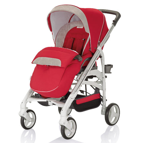 Inglesina Trilogyรถเข็นเด็กเเรกเกิด-5ปี Inglesina Trilogy Stroller from Italy-Luna RED