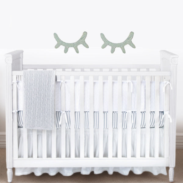 Bambigarden selection Laurant Cot/Bed-White เตียงไม้สีขาวรุ่น Laurant