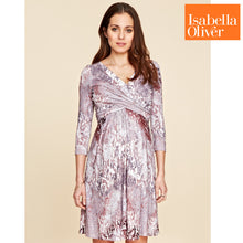 Load image into Gallery viewer, Isabella Oliver Nile Dress-Berry Print